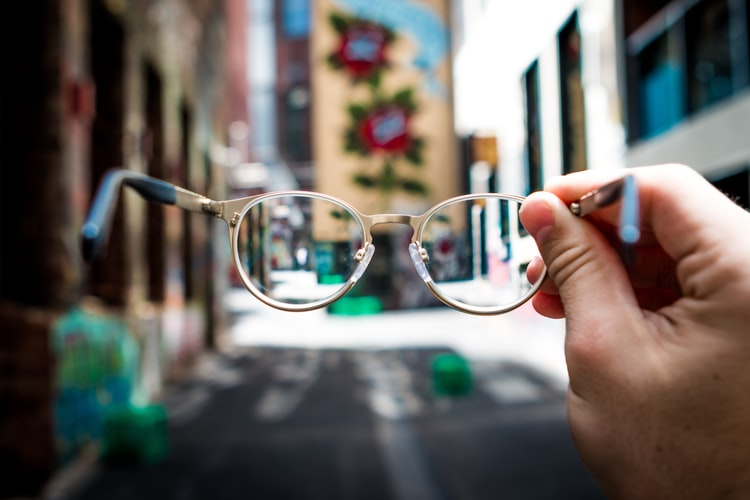 a pair of glasses for men