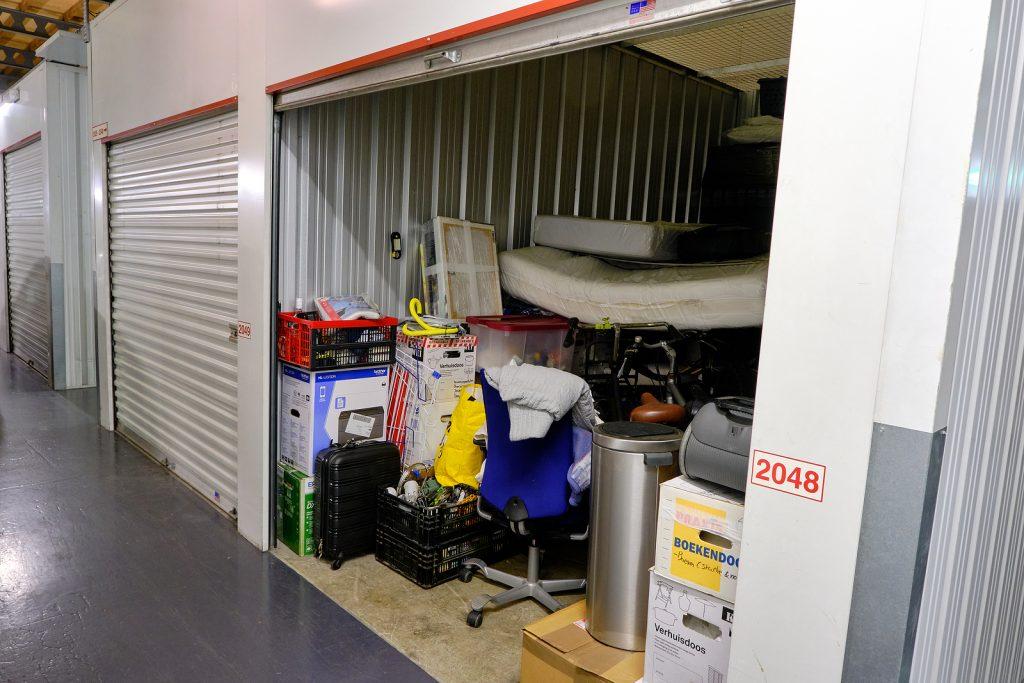 Newcastle storage units filled with stuff