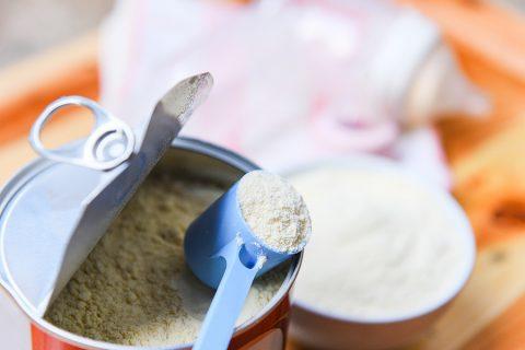 Lactoferrin formula in can